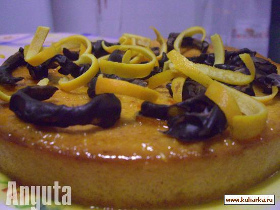 Рецепт Апельсиновый пирог в арабском стиле (Pastel de naranja al estilo arabe)