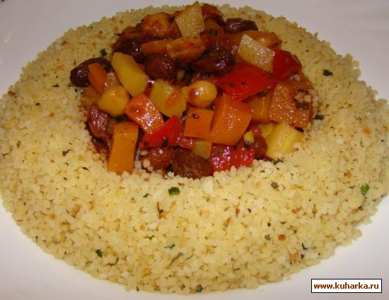 Рецепт Марокканское осеннее рагу