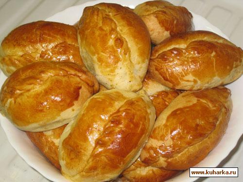 Рецепт Пирожки с картошкой и грибами