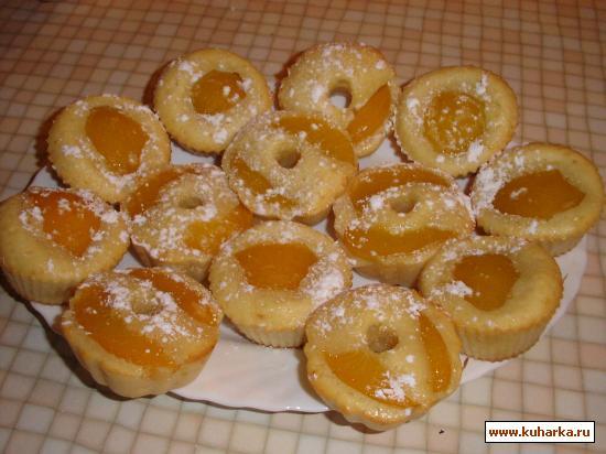 Рецепт Маффины с абрикосами
