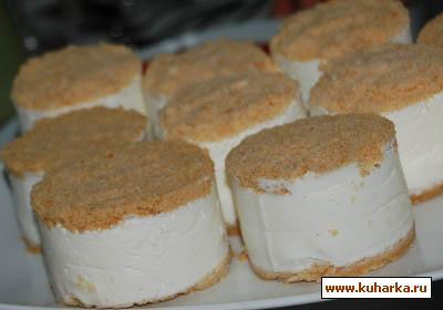 Рецепт Холодный творожный торт с штройзелем
