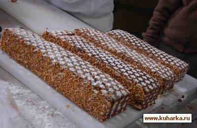 Рецепт Маржолен - шахматный торт