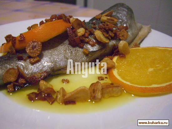 Рецепт Форель с апельсинами (Trucha con naranja)