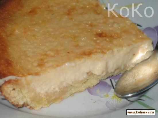 Рецепт Грейпфрутовый тарт