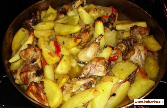 Рецепт Картофель по-гречески.