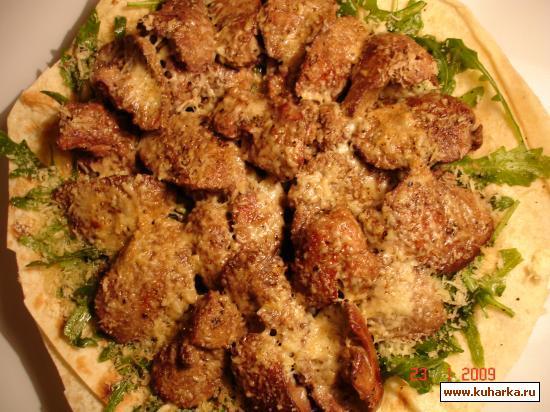 Рецепт Закуска из куриной печени.