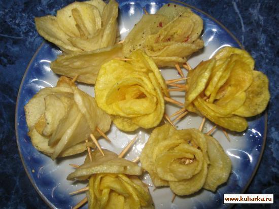 Рецепт Картофельные розы