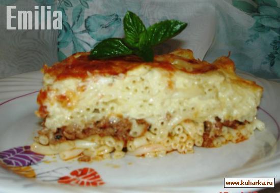 Рецепт Пастицио