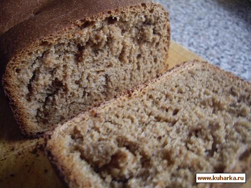 Рецепт Русский черный хлеб