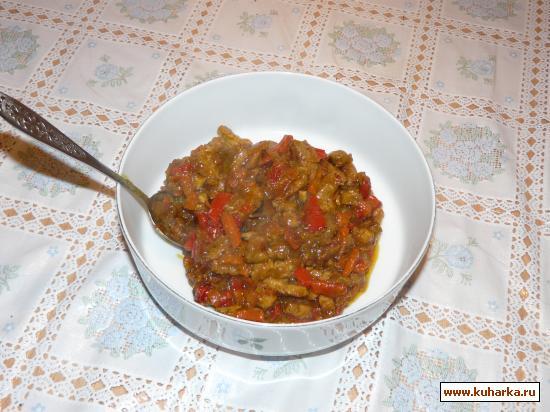 Рецепт Мясо свинины в пикантном соусе