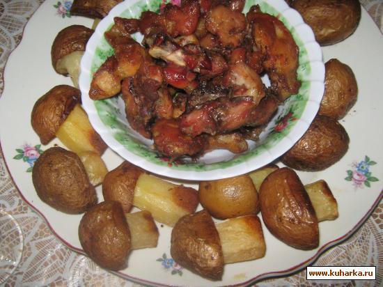 Рецепт Грибочки из картошки