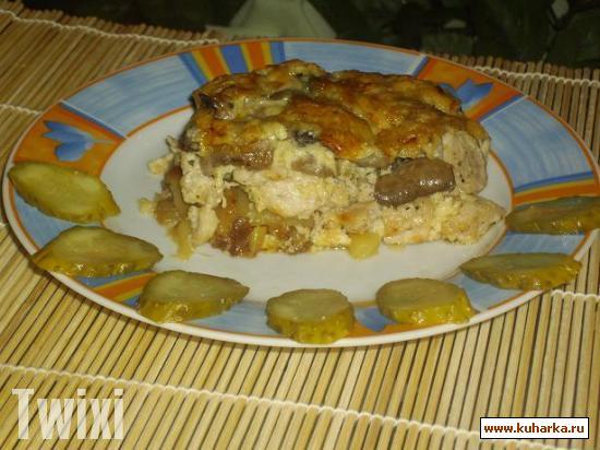 Рецепт Запеканка из курицы с картофелем