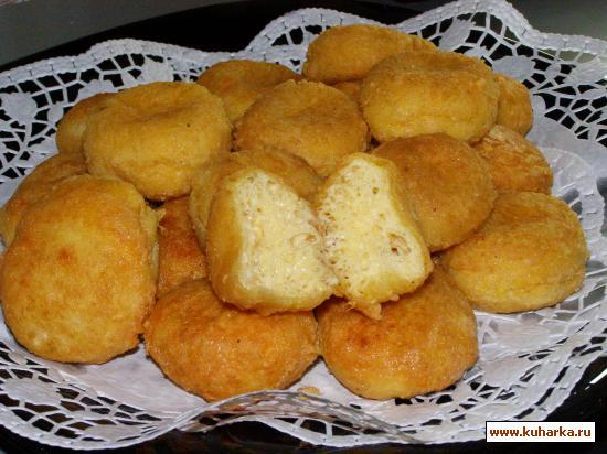 Рецепт Сырные шарики в хрустящей корочке