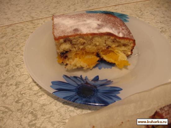 Рецепт Мандариново-шоколадный пирог