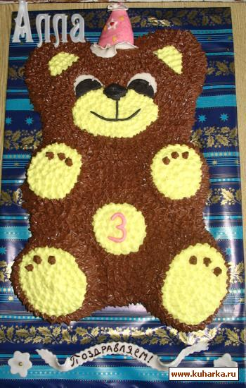 Рецепт торт медвежонок