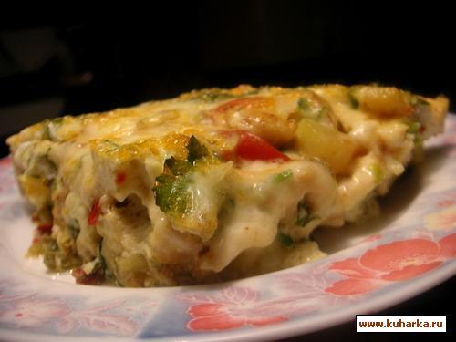 Рецепт Яичный пирог-фритата
