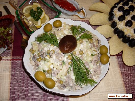 "Рецепт Салат ""Лесная сказка"""