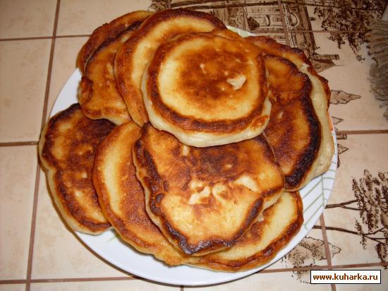 Рецепт Творожные оладушки на ряженке