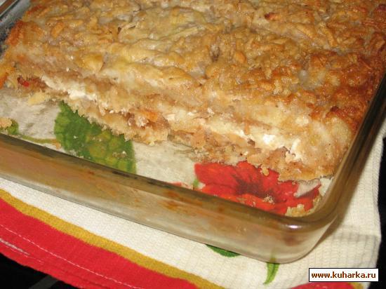 Рецепт Влажный яблочный пирог