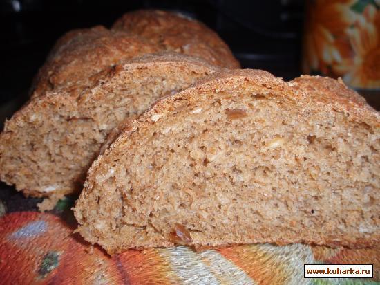 Рецепт Ржаной хлеб на закваске из кваса