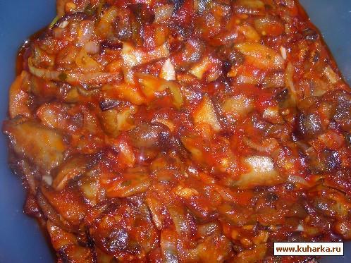 Рецепт Острая грибная закуска