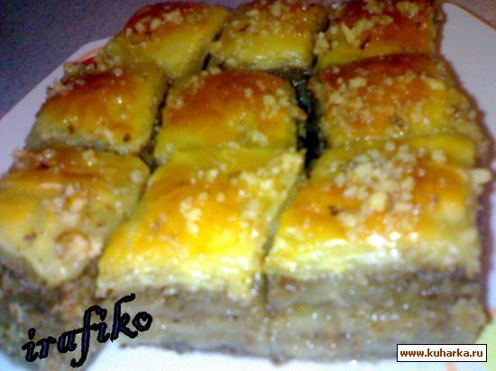 Рецепт Баклава с орехами