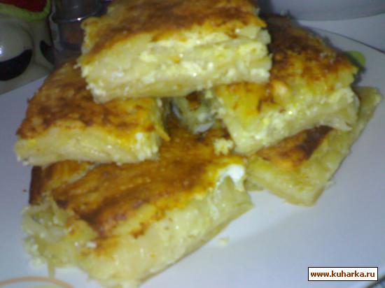 Рецепт Плацинда молдавская