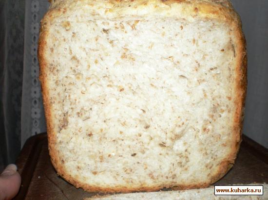 Рецепт Хлеб пшеничный, из 3-х видов отрубей