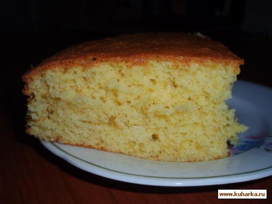 Рецепт Апельсиновый бисквит