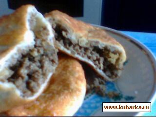Рецепт Пирожки с печенью и легким.
