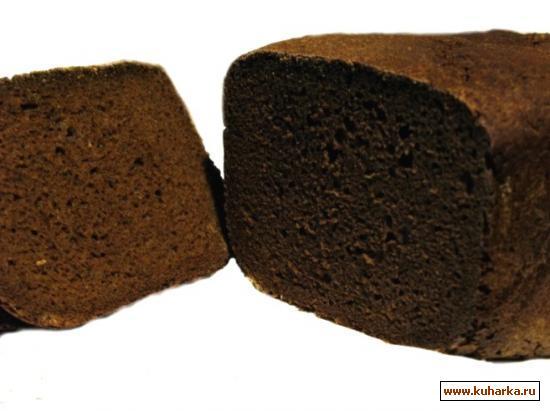 Рецепт Ржаной заварной хлеб настоящий (почти забытый вкус).