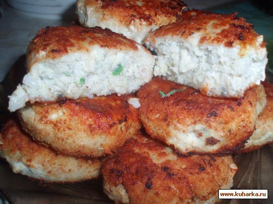 Рецепт Биточки рыбные