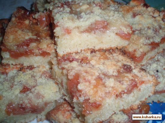 Рецепт Простой пирог с вареньем