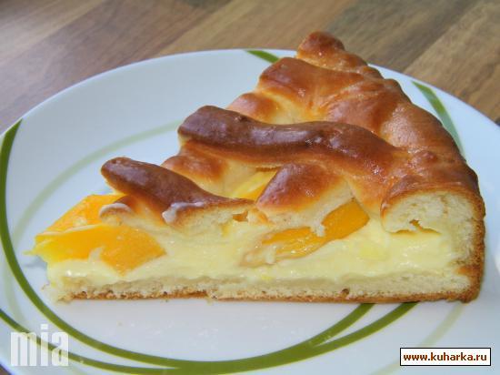Рецепт Абрикосово пуддинговый пирог