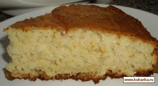 пирог с йогуртом рецепт
