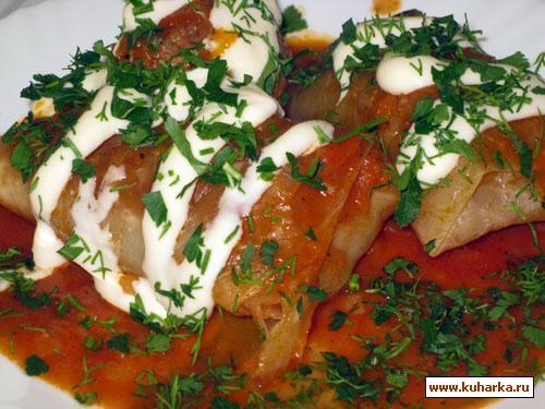 Рецепт Голубцы мясные от свекрови
