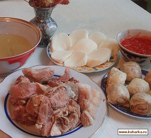 Рецепт Даргинский хинкал