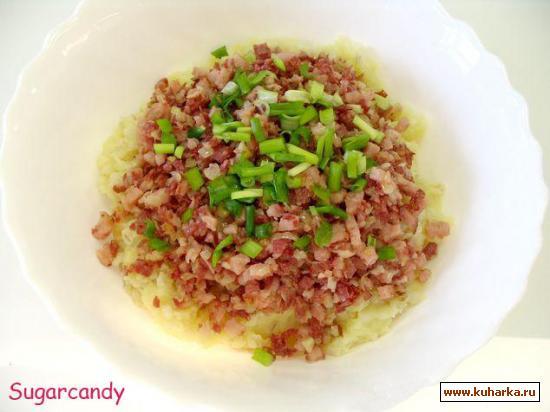 Рецепт Мульгипудер ( Mulgipuder ) Каша из перловой крупы и картофеля