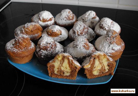 Рецепт Мраморные кексики