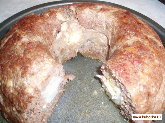 Рецепт Мясное кольцо