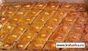 Рецепт Пахлава бакинская