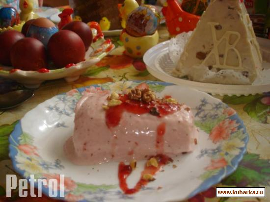 Рецепт Клубничная панакотта