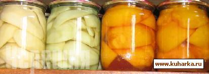 Рецепт Компот из фруктов