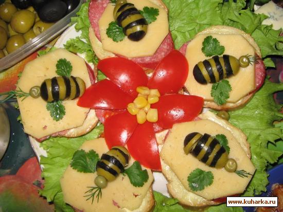 Рецепт Пчелки