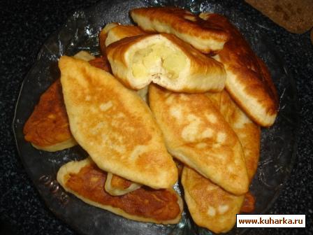 Рецепт Пирожки (жаренные) с картошкой