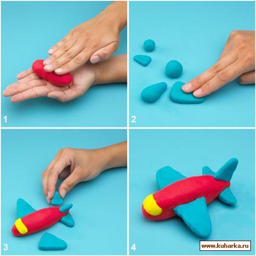 Как сделать самолёт из мастики