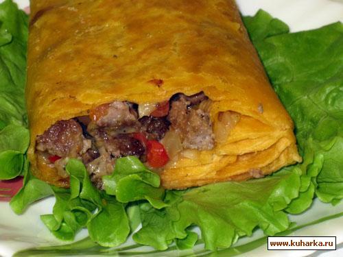 Рецепт Бурито по - мексикански