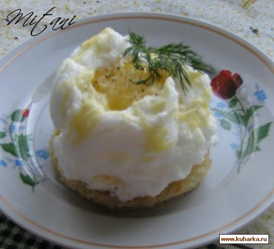 Рецепт Гнездо из яйца