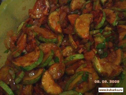 Рецепт Кабачки по-корейски