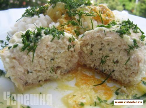 Рецепт Колбаски из куриного фарша и сельдерея